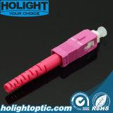 Colore rosa dello Sc Om4 3.0mm del connettore