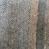 Шевронная ткань одежды из твида