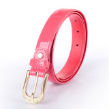 PU Leather Shiny Export Clothing Girl Ceinture PU (RS-1509013)