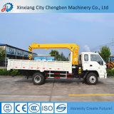 Grue montée par camion de la Chine Dongfeng 4X2 de boum de Hyraulid pour la charge