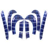 Cubierta azul protegida ULTRAVIOLETA material del kit de la puerta del estilo de Speedwell del ABS a estrenar para Mini Cooper F55 (12PCS/Set)