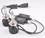 Faro automobilistico delle lampadine 9006 automatici LED del faro di Elnor LED con il disegno del ventilatore