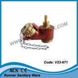 Клапан жидкостного огнетушителя, клапан посадки жидкостного огнетушителя (V23-604)
