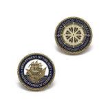 Moneta del blu marino personalizzata promozione per il ricordo