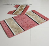 Polypropylen-Faser-waschbare Matten-Badezimmer 2 PCS-Set-Matten-Wolldecke-Fußboden-Matte