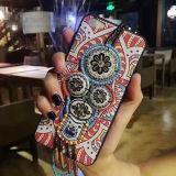 Escudo étnico do telefone do estilo para a caixa colorida do telefone móvel de iPhone6/6s/7/7s