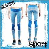 2017 nuovi pantaloni di yoga di compressione di sport delle donne di disegno (YG002)