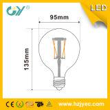 세륨 RoHS SAA 승인되는 E27 필라멘트 G95 LED 전구