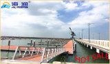 Puerto deportivo modular el pontón del dique flotante del esquí del jet en China