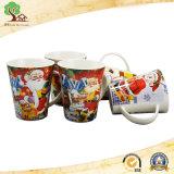 Tazza di ceramica appena nata all'ingrosso di 12oz Cina per il regalo di natale di Customied