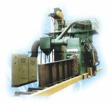 H-Beamおよび他の鉄骨構造のためのショットブラストのクリーニング機械