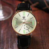 Relógio de pulso unisex da forma do relógio do melhor vendedor de projeto compato de 327 Yazole