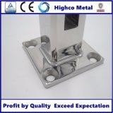 Zipolo quadrato per la balaustra di vetro di 12-18mm