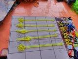 Het grappige Plastic Speelgoed van het Speelgoed van de Wapens van de Jojo van het Elastische Speelgoed Kleverige