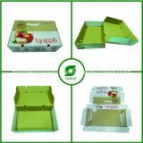 색깔에 의하여 인쇄되는 과일 판지 상자 사과 포장 (FP02000046)