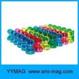 El empuje magnético plástico fija el imán de NdFeB