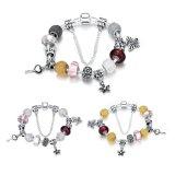 De populaire Armband van de Vrouwen van de Bloem en van de Tegenhanger van Sleutels