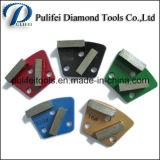Трапеция Металл Абразивный Pad для бетонном полу Абразивный