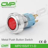 Drukknop CMP 16mm met de Verlichting van het Symbool van de Macht