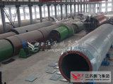 4,8 * 76m Four rotatif dans la ligne de production de ciment