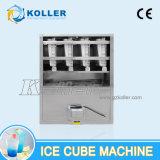 1 Tonnen-automatische Würfel-Eis-Maschine mit PLC-Programm-Steuerung