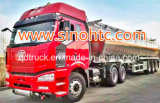 Aluminium35 000L kraftstofftank-Schlussteil-LKW