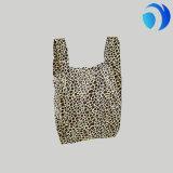 La maniglia su ordinazione di plastica della maglia della maglietta Trasporta-fuori il sacchetto di acquisto