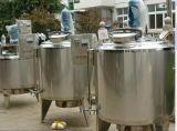 El tanque termoeléctrico de la envuelta exterior calefactora con el tanque de mezcla del mezclador