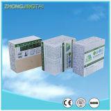Isolation externe intérieure thermique acoustique de construction de mur de brique pleine