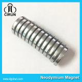 N35 N42 N50 N52 Ímã de boro de ferro de neodímio de disco permanente forte