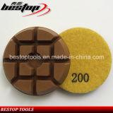 고품질 10mm 두껍게 건조한 사용된 수지 콘크리트 패드