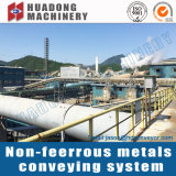 Het Systeem van de Transportband van het non-ferroMetaal voor de Installatie van het Metaal