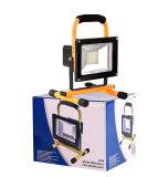 20W再充電可能なLED作業ライト
