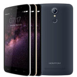 Original Homtom Ht17 PRO Smartphone 4G Lte 5.5 pouces HD 1280X720 IPS Mtk6737 Quad Core Android 6.0 Smart Phone 2GB + 16 Go 13MP Gold Color