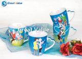 Caneca personalizada de porcelana cerâmica 4 oz