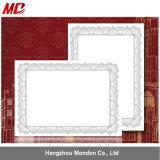 Suporte de papel dos certificados baratos do tamanho A4 com etiqueta dos selos