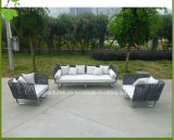 현대 정원 가구 Polished 알루미늄 폴리에스테 옥외 소파 (CF834)