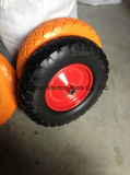 Maxtop 단단한 편평한 자유로운 PU 거품 바퀴