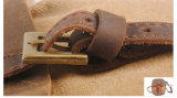 Реальный кожаный мешок комода плеча отдыха перемещения холстины (RS-6813)