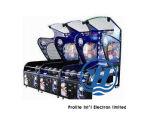 Máquina de juego de fichas electrónica loca de arcada del baloncesto de la diversión (ZJ-BG03)