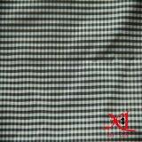 t-셔츠를 위한 격자 무늬, 줄무늬 폴리에스테 직물 또는 복장 또는 여성복