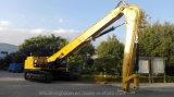 Hohe Reichweite-Hochkonjunktur des Gleiskettenfahrzeug-Cat349d2l für 16m Stapel-Hammer