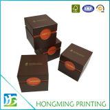 Cadre de papier de luxe de produit de beauté de cadeau de carton
