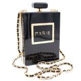 De transparante Vrouw van de Manier van de Ontwerper van de Fles van het Parfum Dame Acrylic Handbag Evening Bag