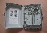 Cadre de distribution gauche de fibre optique de FTTX 24, boîtier en plastique d'ABS de Module de distribution de fibre