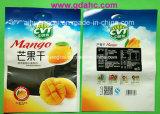 Bolso plástico de aluminio modificado para requisitos particulares del alimento del sello de la cara de la marca de fábrica