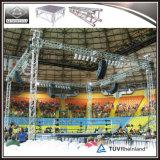 Sistema de aluminio de interior del braguero del braguero de la visualización de LED para el acontecimiento