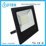 LEDの洪水ライト100Wフラッドライト細いハウジングIP65 LEDの屋外の照明