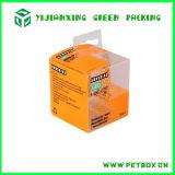 Упаковка коробки пластичного прозрачного печатание складывая