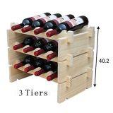 Aparelhos electrodomésticos 3/4 de armazenamento do vinho das séries 10/20 gabinete do vinho da cremalheira do vinho dos frascos de adega de vinho do mini mini